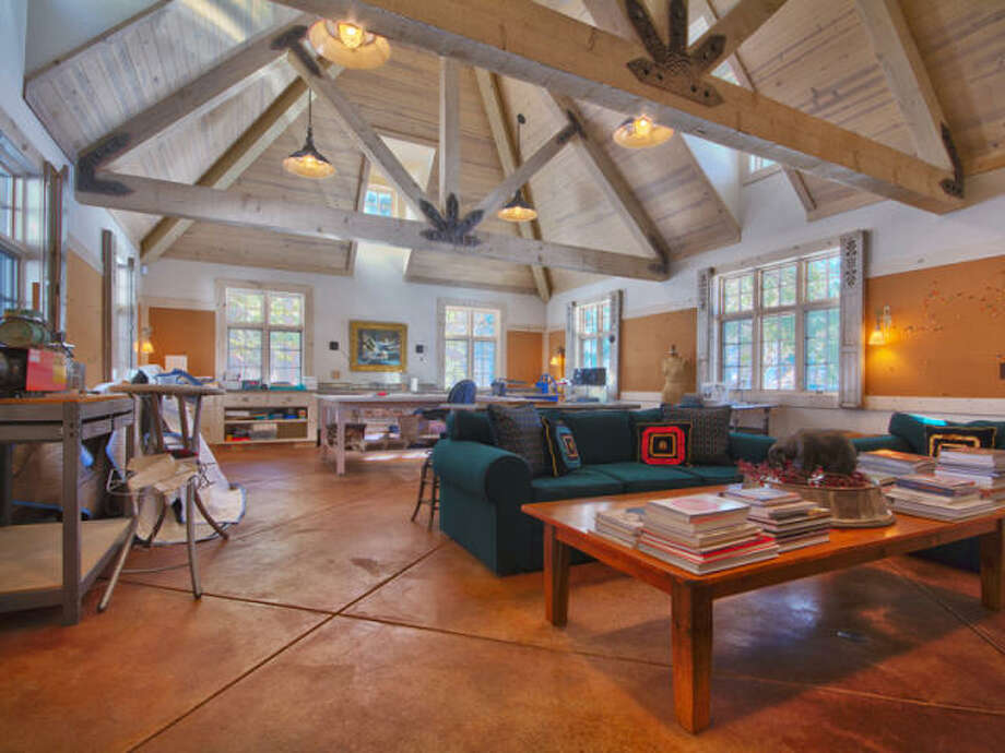 Finally, something light and bright. The artist's studio. Photos via Trulia/MLS/Sotheby's
