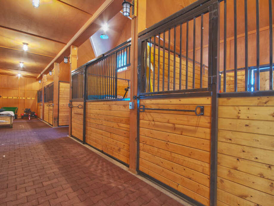 Horses sleep here. Photos via Trulia/MLS/Sotheby's