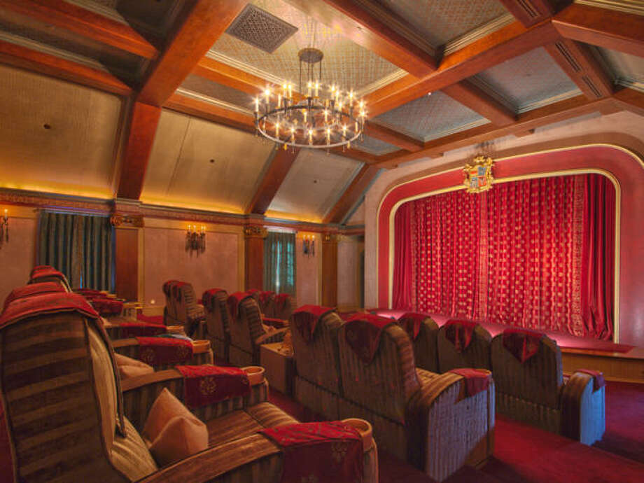 Theater. Photos via Trulia/MLS/Sotheby's