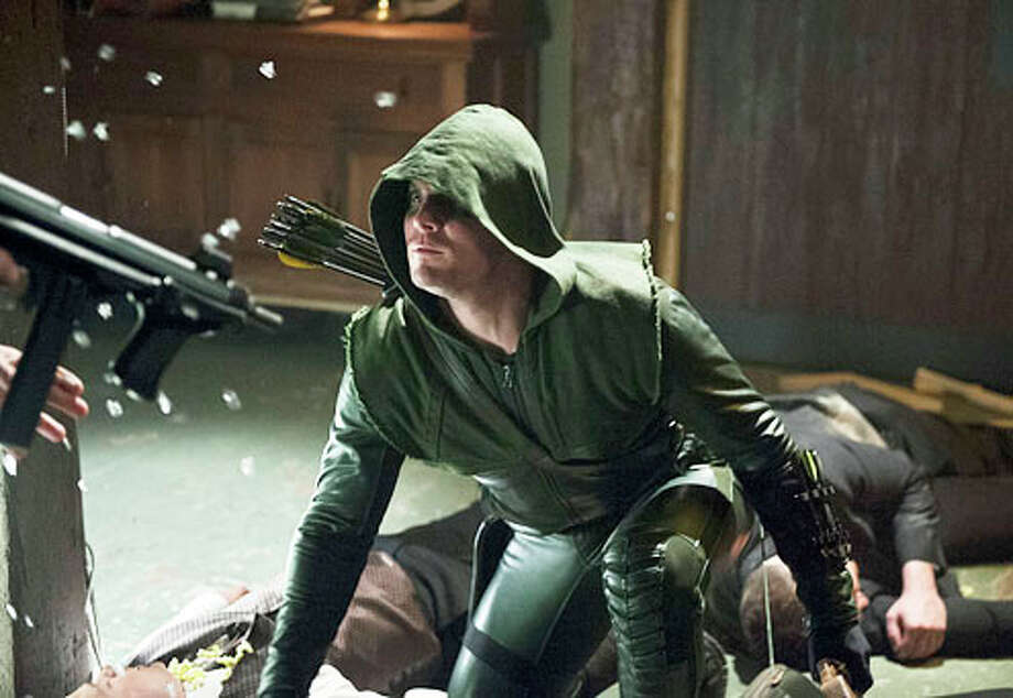 No. 7 - 'Arrow,' with an estimated 1.85 million illegal downloads and 4.14 million TV viewers.