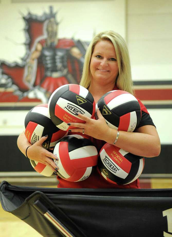 Ashley Wade is set to lead the Spartans in her first season as head  volleyball coach 84c290477