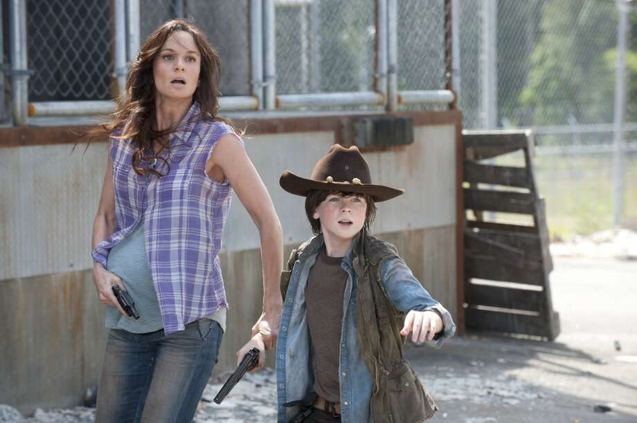 No. 4 - 'The Walking Dead,' with an estimated 2.7 million illegal downloads and 12.42 million TV viewers.