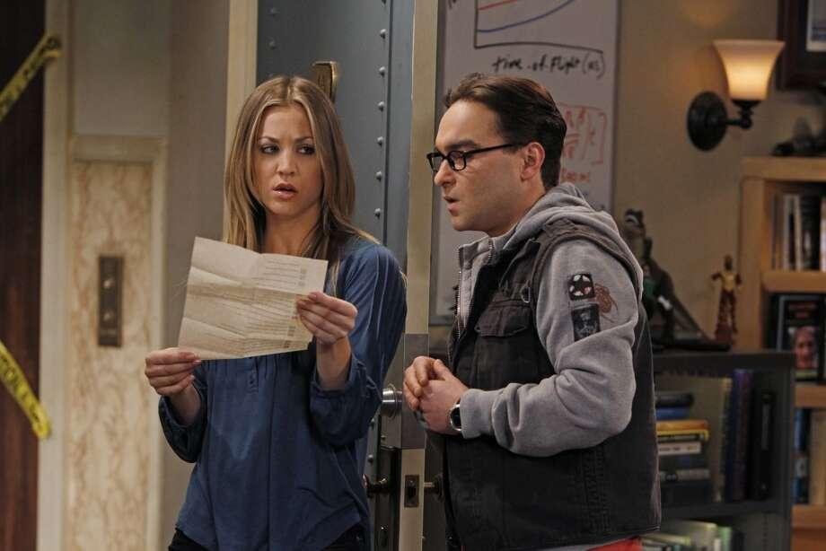 No. 2 - 'The Big Bang Theory,' with an estimated 2.9 million illegal downloads and 20 million TV viewers.