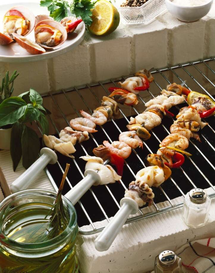Avoid HCAs - Lightly oil the grillThis keeps charred materials from sticking to your food.