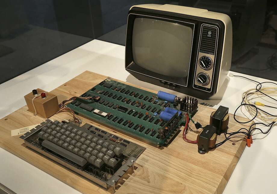 Yup, computers have come a long way from some humble beginnings. Photo: Ben Margot, Associated Press