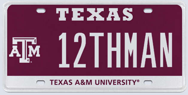 "A Texazs A&M bid $115,000 for the rights to own this '12THMAN"" license plate. Keep clicking to see what other things could have been bought with that kind of dough."