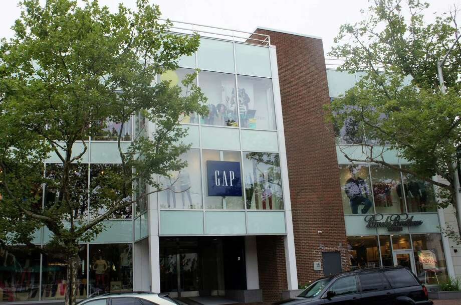 The Gap at 125 Main St. is a tale of retail gone vertical --- on three levels. But will upper-story shops fly at what now is the Family Y? Photo: Paul Schott, File Photo / Westport News