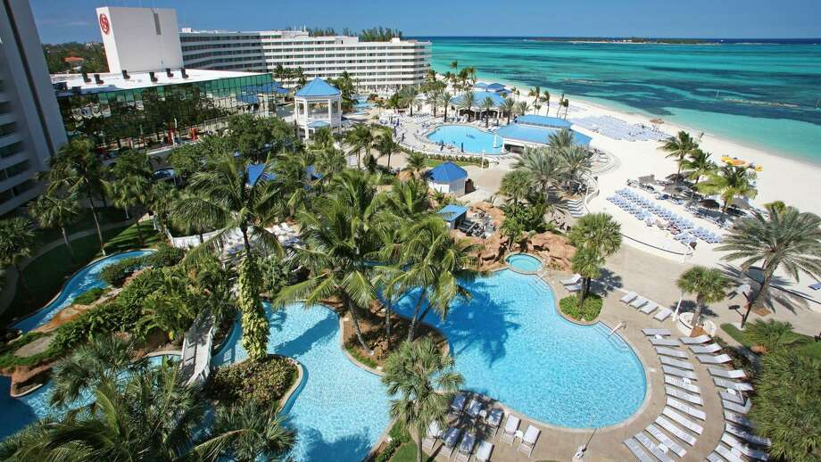 Top Ports of CallWhy swim in a pool when there's a warm beach right next door? About 25 percent of travelers take cruises to the Bahamas, making it the third most popular destination.Above: Sheraton Nassau Beach Resort & Casino in the Bahamas.Source:StatisticBrain