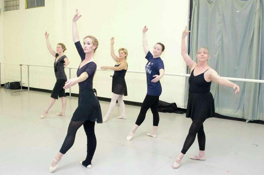 Women Get Into Shape Ballerina Style San Antonio