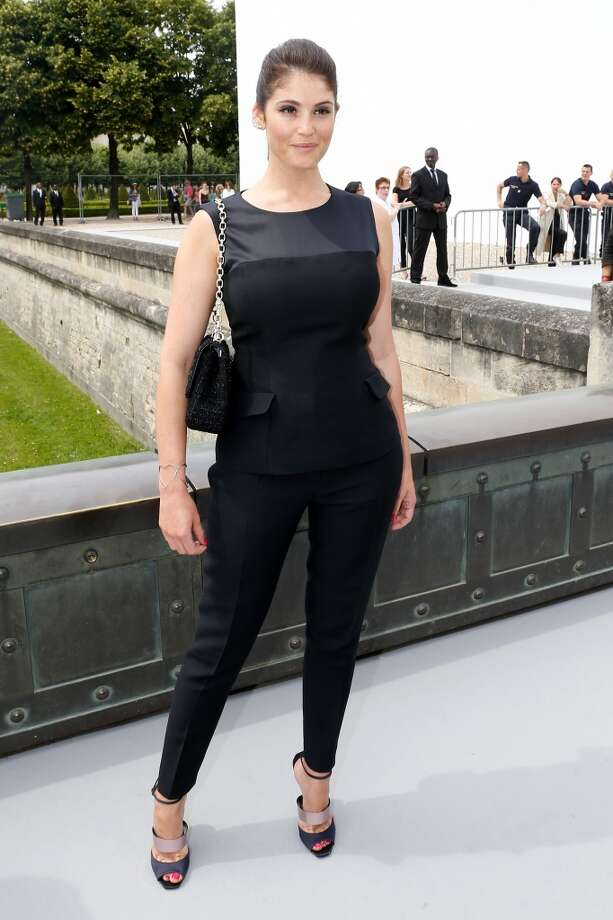 PARIS, FRANCE - JULY 01:  Actress Gemma Arterton arriving at the Christian Dior show as part of Paris Fashion Week Haute-Couture Fall/Winter 2013-2014 at  on July 1, 2013 in Paris, France.  (Photo by Petroff/Dufour/Getty Images)