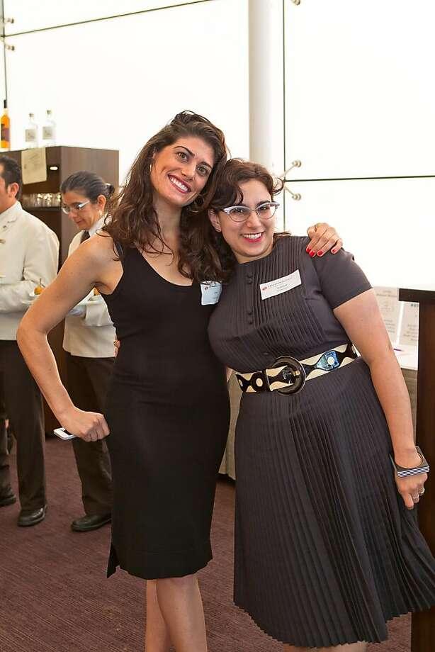 Dru D'Amico and Rebekah Kouy-Ghadosh at the Dress for Success San Francisco Annual Fashion Celebration on June 27, 2013. Photo: Drew Altizer Photography