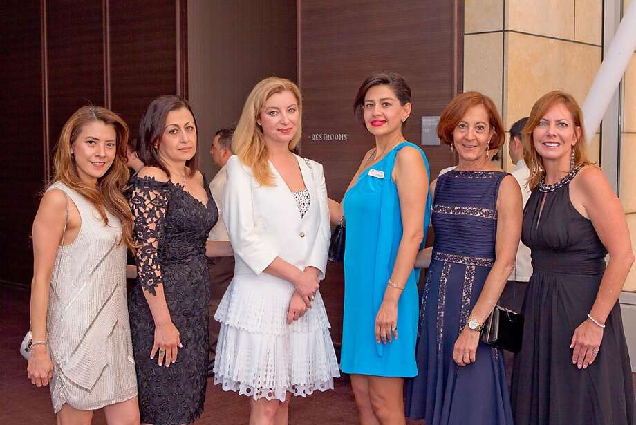 A group of women pose for a photo during the Dress for Success San Francisco Annual Fashion Celebration on June 27, 2013. Photo: Drew Altizer Photography