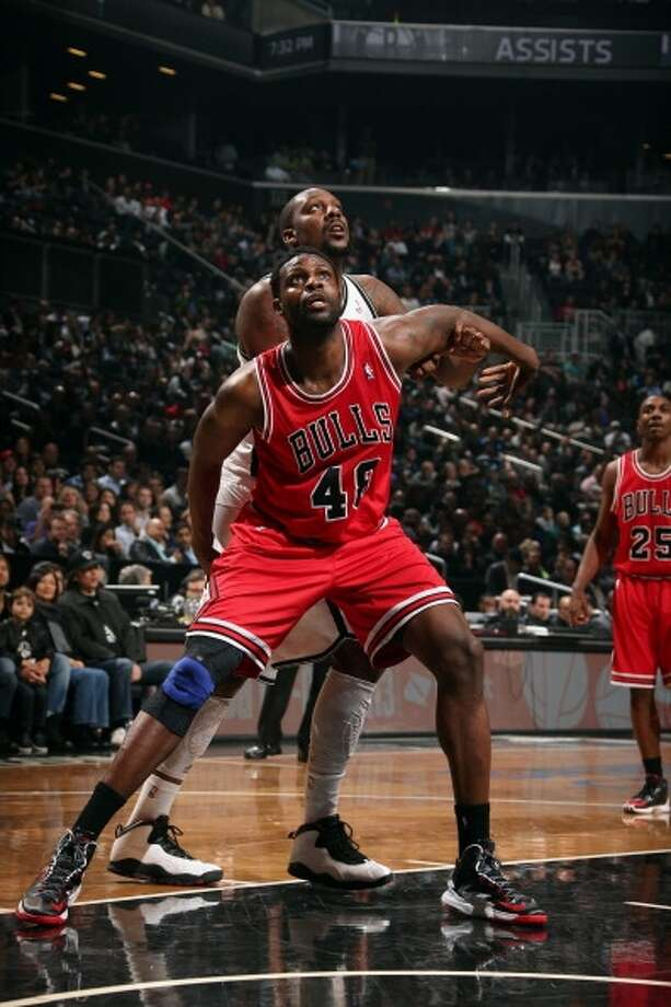 Nazr Mohammed  Re-signed with Chicago Bulls Photo: Nathaniel S. Butler, NBAE Via Getty Images