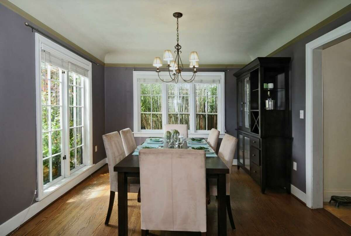 Dining room of 2426 10th Ave. W. The 2,640-square-foot house, built in 1928, has four bedrooms, 2.5 bathrooms, a family room, leaded glass, wood and tile floors, a deck and a patio on a 4,000-square-foot lot. It's listed for $775,000.