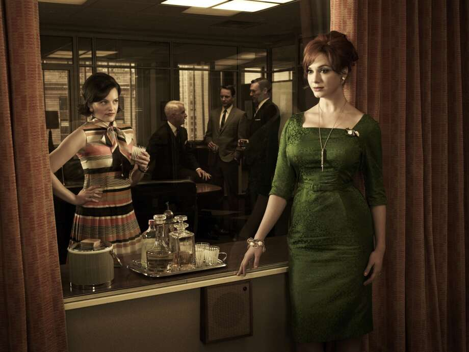 The dresses on 'Mad Men,' particularly Joan's fitted numbers, have influence contemporary trends.