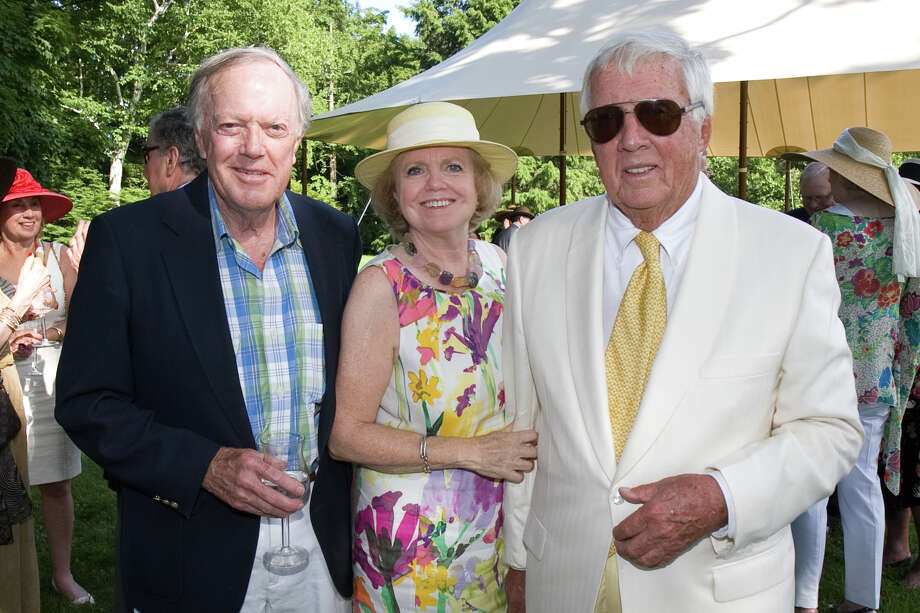 """The Greenwich Branch of The English Speaking Union's  """"Queen's 87th Birthday Garden Party"""" at the Malcolm Pray Estate on June 23, 2013. Photo: Cutty McGill"""