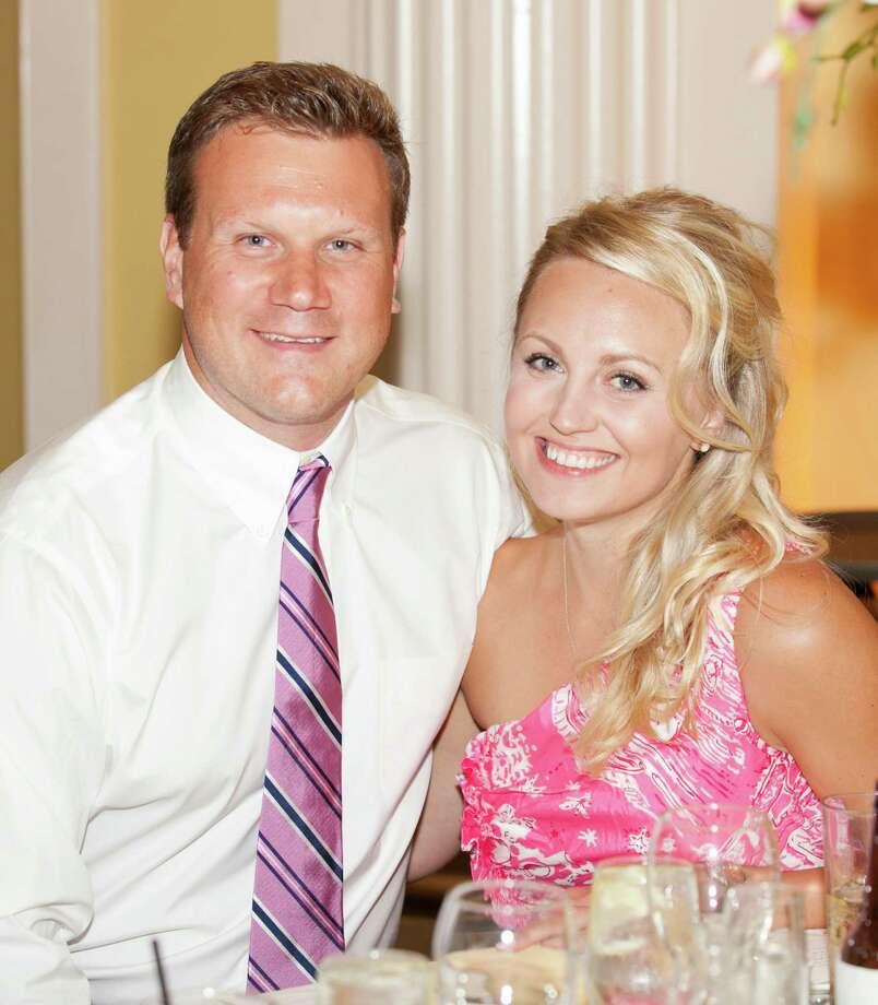 Christopher Aitkin and Susan Romanowski. Westport CT. June 2013. Photo: Contributed Photo / Westport News
