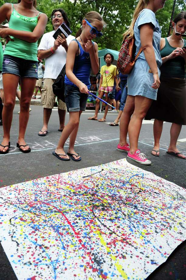 The 4th annual Bridgeport Arts Fest takes place at McLevy Green in Bridgeport on Saturday, July 13. Photo: Autumn Driscoll / Connecticut Post
