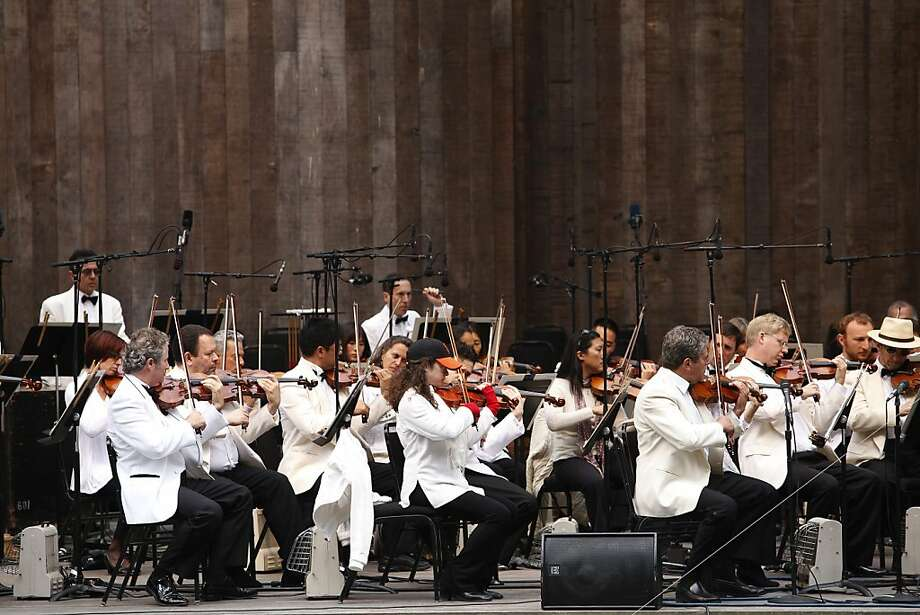 San Francisco Symphony Photo: Sonja Och, The Chronicle