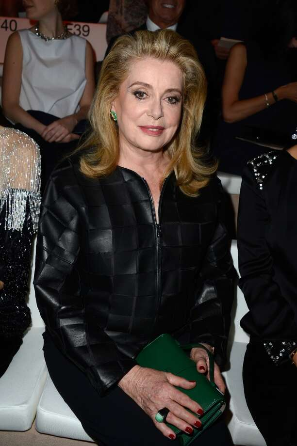 PARIS, FRANCE - JULY 02:  Catherine Deneuve attends the Giorgio Armani Prive show as part of Paris Fashion Week Haute-Couture Fall/Winter 2013-2014 at Theatre National de Chaillot on July 2, 2013 in Paris, France.  (Photo by Pascal Le Segretain/Getty Images)