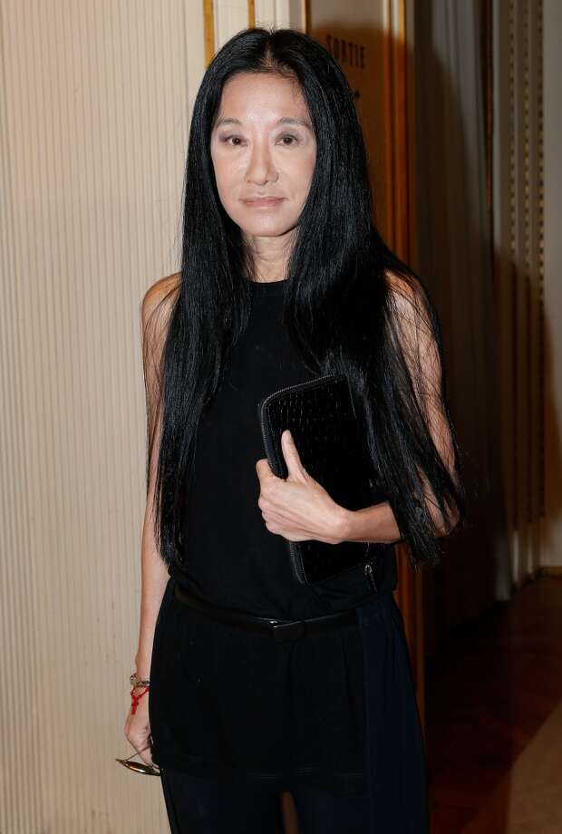 PARIS, FRANCE - JUNE 30:  Vera Wang attends the Versace show as part of Paris Fashion Week Haute-Couture Fall/Winter 2013-2014 at  on June 30, 2013 in Paris, France.  (Photo by Bertrand Rindoff Petroff/Getty Images)