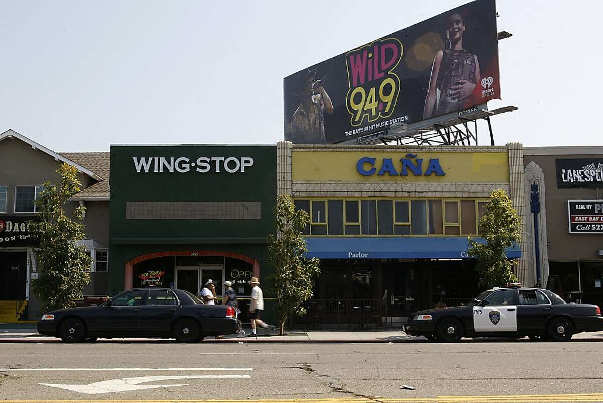 Two employees died from gunshot wounds at Wing Stop restaurant in Oakland late Monday night.