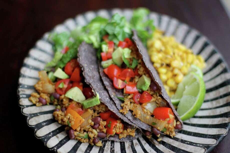 Freekeh Vegetarian Tacos Photo: Freekeh Foods