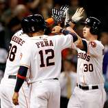 May 20: Astros 6, Royals 5 Matt Dominguez's three-run blast in the fourth inning proved to be the game winner as the Astros opened the home series on the right foot. Record: 13-32.