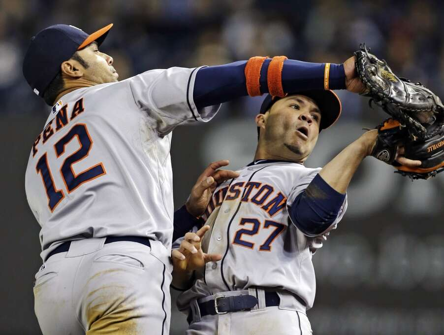 April 30: Yankees 7, Astros 4 Houston was back on the losing side in the second game of the series in New York. Record: 8-19.