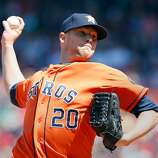April 28: Red Sox 6, Astros 1 Houston pitcher Bud Norris struggled away from Minute Maid Park. Record: 7-18.