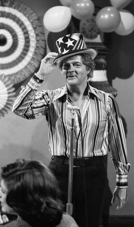 "1974 -- ""Days of our Lives"" star Bill Hayes may have overdone it on the stripes. Photo: NBC, Getty Images / 2013 NBCUniversal Media, LLC"