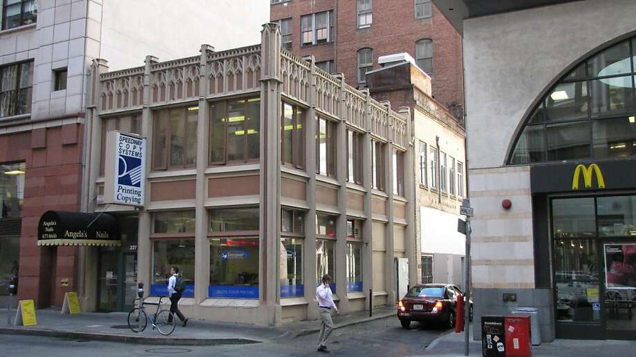 Fox Building  225-227 Front St. Photo: John King, The Chronicle