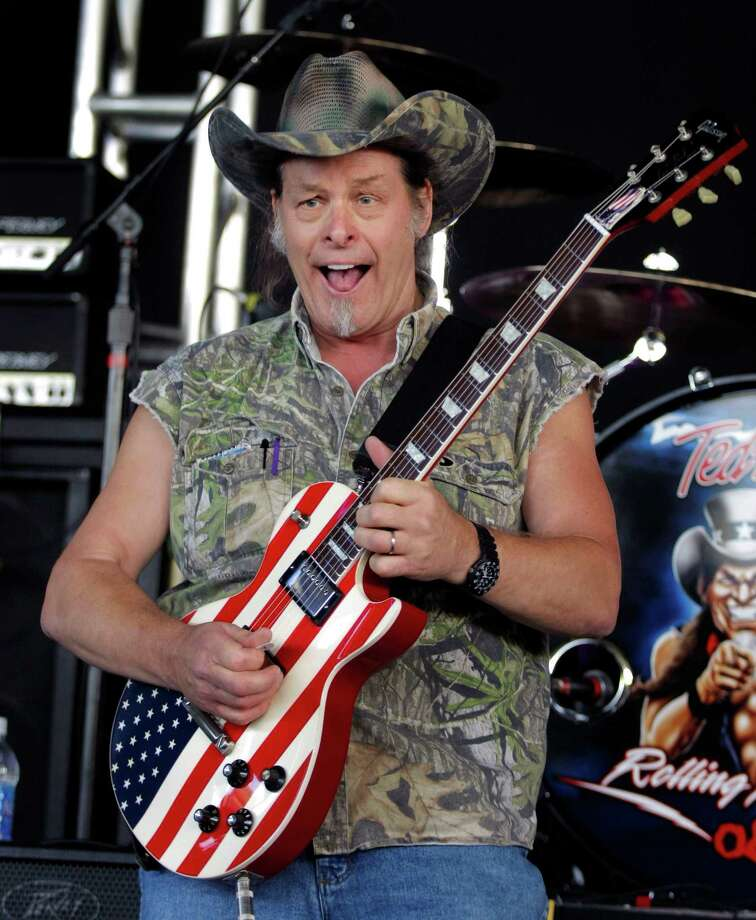 2008 -- Ted Nugent just looks like this all the time. Photo: Bill Pugliano, Getty Images / 2008 Getty Images