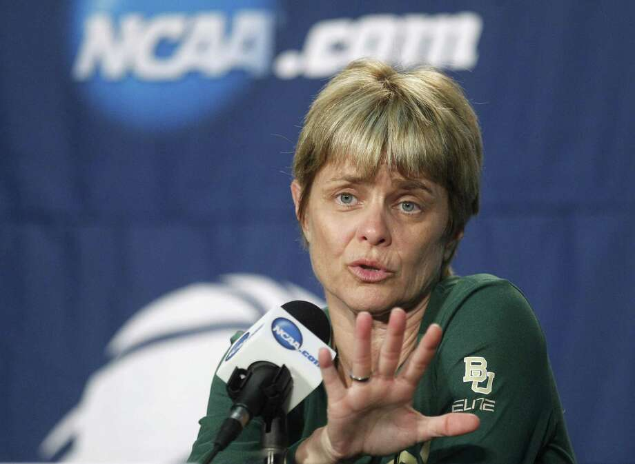 Kim Mulkey was suspended for her next NCAA tournament game for criticizing officials.