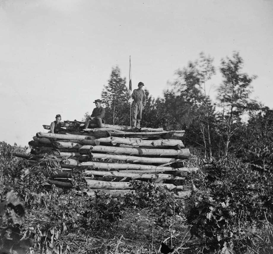 View of a signal tower overlooking Antietam battlefield, at Elk Mountain, MD, 1862. (Photo by Timothy O'Sullivan/Buyenlarge/Getty Images) Photo: Buyenlarge, Getty Images / Archive Photos