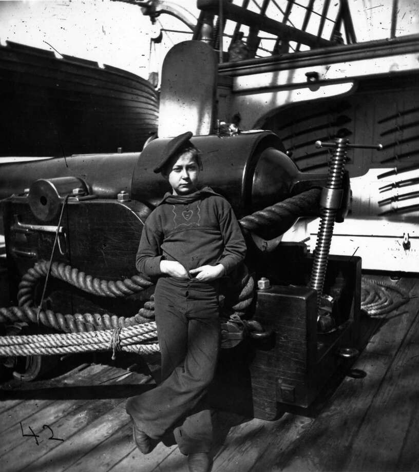 A powder monkey on board the Union warship 'New Hampshire' off the South Carolina coast. Powder monkeys was the name given to young boys who brought powder charges to the gun crews. Photo: MPI, Getty Images / Archive Photos