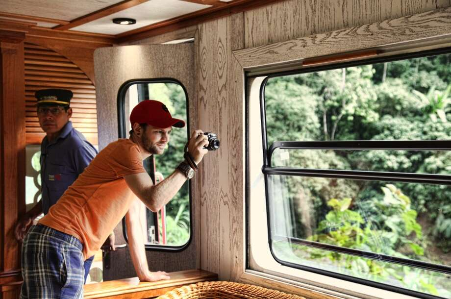 Thanks to panoramic windows, photo ops abound.