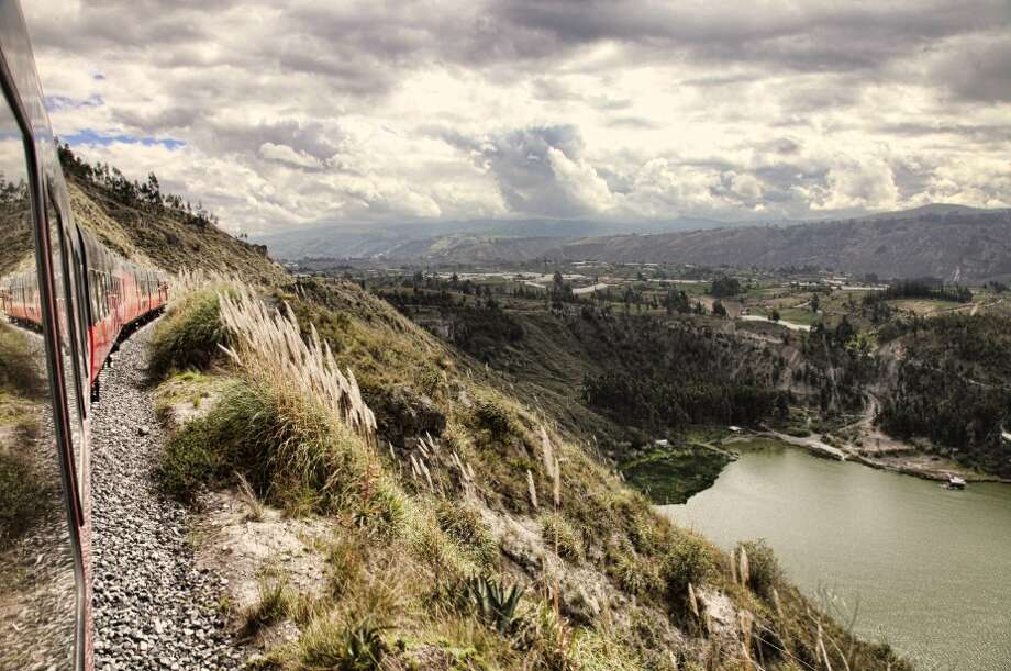 Tren Crucero offers stunning panoramic views of Ecuadorian landscapes.