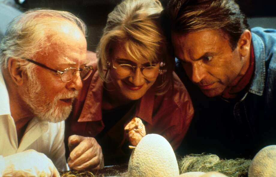 Jurassic Park  While there is computer hacking in the film—including a virus used to cripple the park's network—the most interesting hacking in the film is into the source code of DNA. Scientists in the park hack into Dino DNA and use samples from living animals (frogs) to re-engineer the life being created. It doesn't go well.