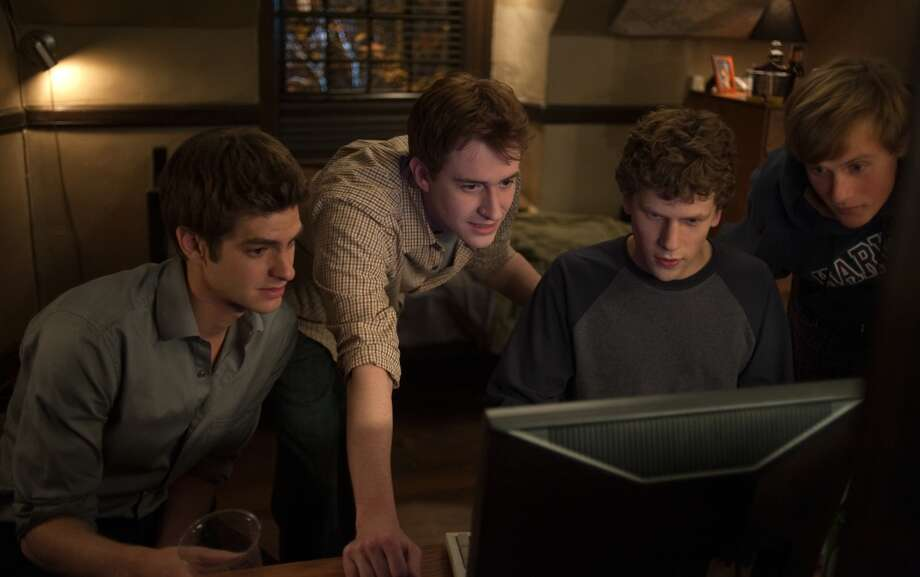 "The Social Network  The first on the list to be a nearly true story, The Social Network deals with less outright computer hacking and more with a business-hack: theft of intellectual property. The creation of Facebook, we learn in ""The Social Network,"" involved taking someone's idea and running it by the creator of Napster. Not quite the same as stealing secrets from a government mainframe, but still pretty sketchy."