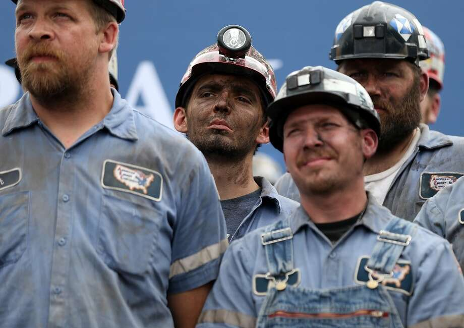 8. Coal Mine Worker / Roof Bolter  Median hours: 50/week  Median wage: $23.04/hour  Median overtime: $34.89/hour Photo: Justin Sullivan, Getty Images