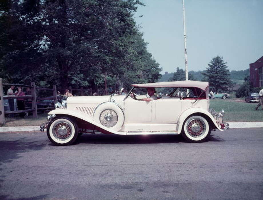 """It's a doozyThe phrase """"It's a doozy"""" was created because of the luxury brand Dusenberg. The luxury automobiles were known for their over-the-top style. Photo: Peter Stackpole, Time & Life Pictures/Getty Image / Time Life Pictures"""