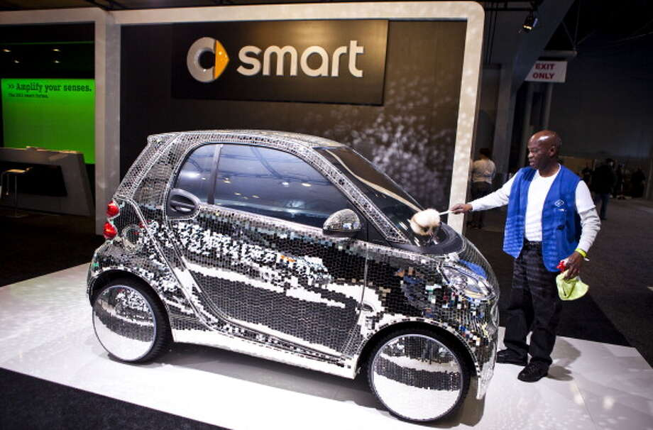 Smart car  If you wanted to, you could cram 19 people inside a Smart car. Then again, why would you want to? Photo: Ramin Talaie, Getty Images / 2011 Getty Images