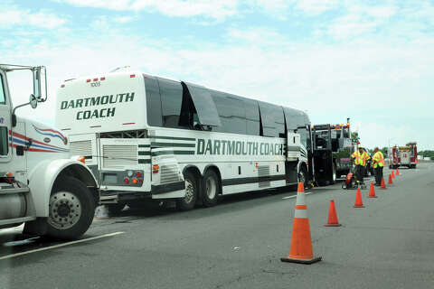 Chain reaction bus crash created traffic nightmare - Connecticut Post