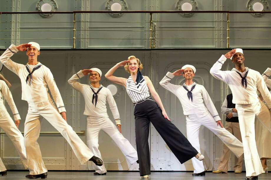 Rachel York and cast of Anything Goes Tour (Joan Marcus) Photo: Joan Marcus / ©2012, Joan Marcus