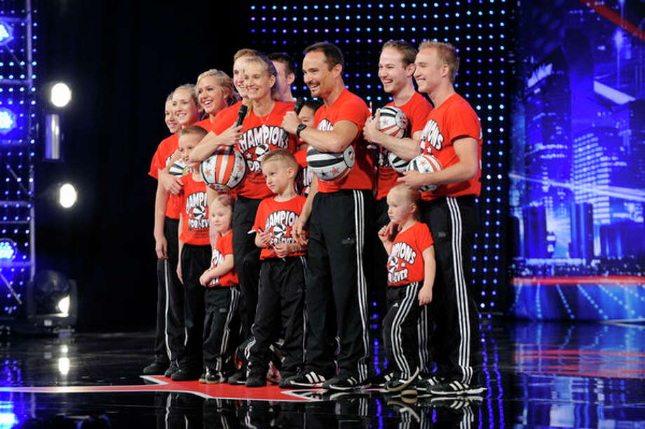 AMERICA'S GOT TALENT -- Episode 805 -- Pictured: Champions Forever (Spintacular Basketball Show) -- Photo: NBC, Virginia Sherwood/NBC / 2013 NBCUniversal Media, LLC.