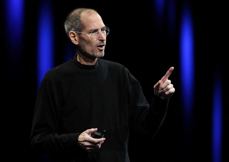Steve Jobs never had a license plateSteve Jobs used a little-known provision in California law to avoid getting a license plate. He was able to accomplish this feat by getting a new car every six months. By doing so, he wasn't legally required to get a plate. Photo: Justin Sullivan, Getty Images / 2011 Getty Images
