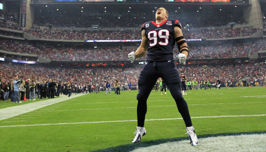 J.J. Watt is now your off-season bodyguard.