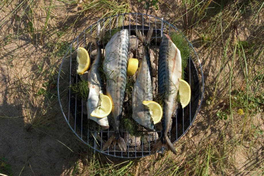 Avoid HCAs - Stick with fish  Fish contains less fat and cooks faster than meat and poultry. Photo: VisitBritain/Daniel Bosworth, Getty Images / (c) VisitBritain/Daniel Bosworth