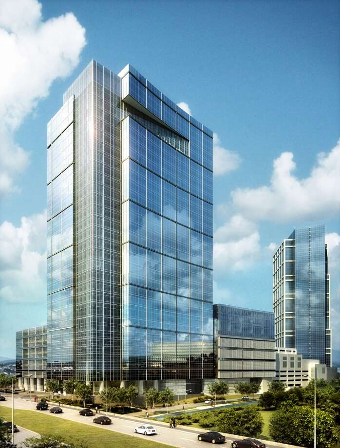 Anadarko has built a second tower in The Woodlands. Photo: Handout